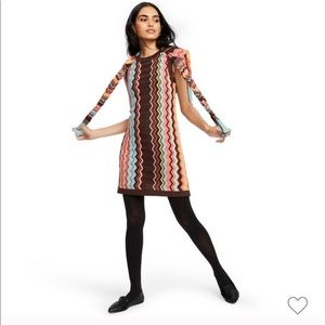 Missoni for Target Zig Zag Crewneck Dress D146